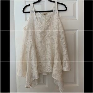 NEVER WORN ANTHROPOLOGIE SHEER LACE TANK